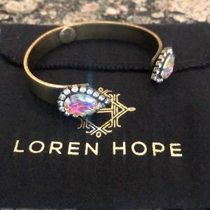 Beautiful, barely worn Loren Hope Sarra Cuff